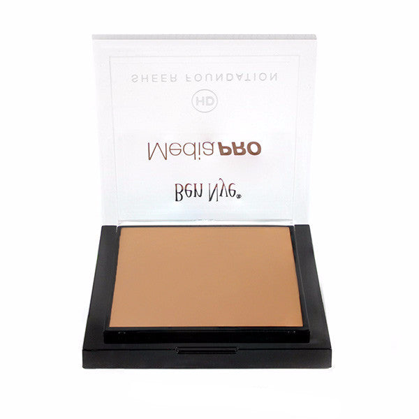 Ben Nye MediaPRO HD Sheer Foundation - True Olive 2 (HD-407) LIMITED AVAILABILITY | Camera Ready Cosmetics - 72