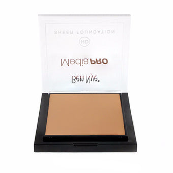 alt Ben Nye MediaPRO HD Sheer Foundation True Olive 2 (HD-407) LIMITED AVAILABILITY