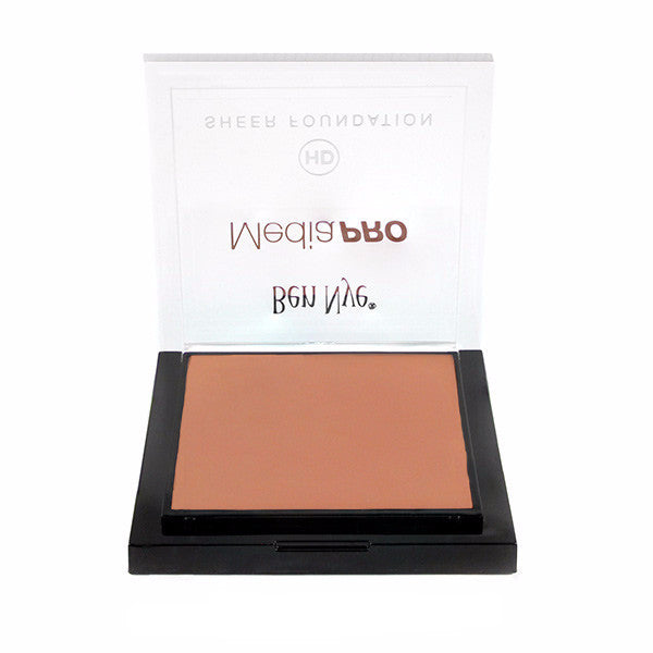 Ben Nye MediaPRO HD Sheer Foundation - True Olive 3 (HD-410) LIMITED AVAILABILITY | Camera Ready Cosmetics - 73