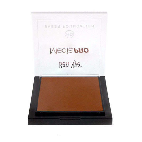 Ben Nye MediaPRO HD Sheer Foundation - Sumatra (HD-910) | Camera Ready Cosmetics - 68