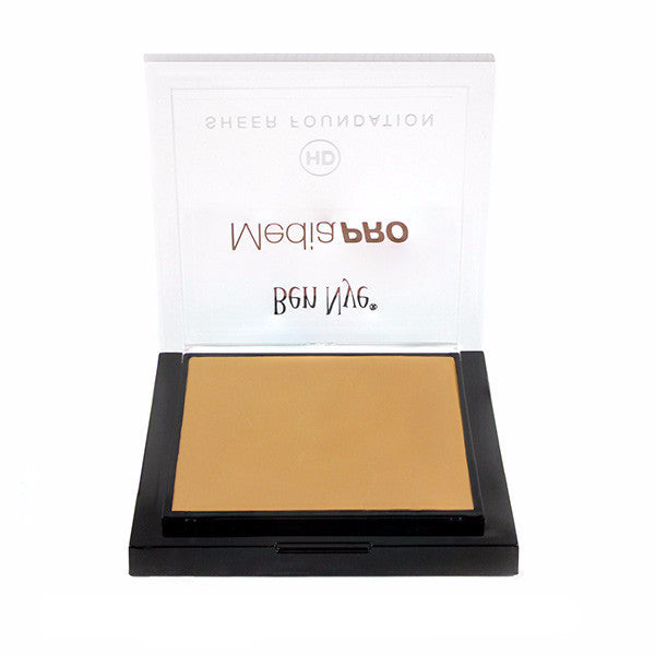 Ben Nye MediaPRO HD Sheer Foundation - Shinsei Medium (HD-507) | Camera Ready Cosmetics - 64