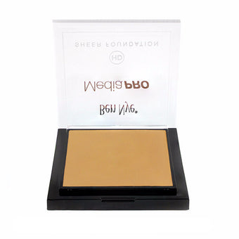 alt Ben Nye MediaPRO HD Sheer Foundation Shinsei Medium (HD-507)