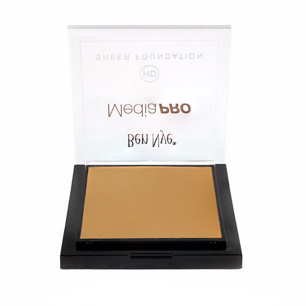 Ben Nye MediaPRO HD Sheer Foundation - Shinsei Deep (HD-510) | Camera Ready Cosmetics - 60