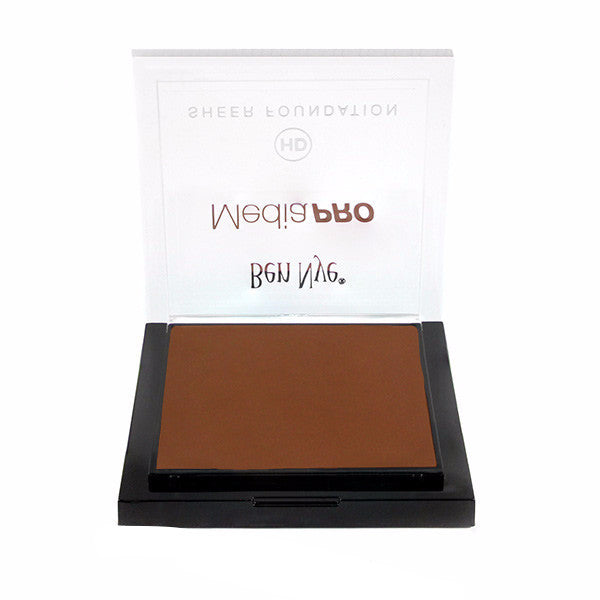 Ben Nye MediaPRO HD Sheer Foundation - Rich Cocoa (HD-913) | Camera Ready Cosmetics - 56