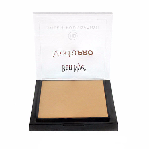 Ben Nye MediaPRO HD Sheer Foundation - Bamboo 1 (HD-491) | Camera Ready Cosmetics - 6