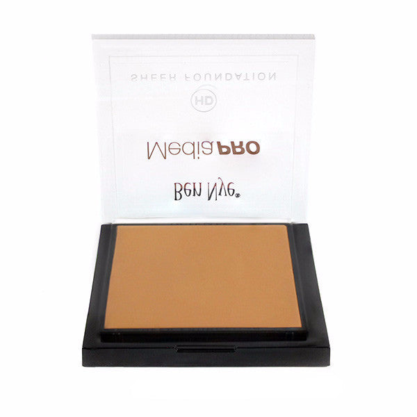 Ben Nye MediaPRO HD Sheer Foundation - Bamboo 3 (HD-493) | Camera Ready Cosmetics - 8