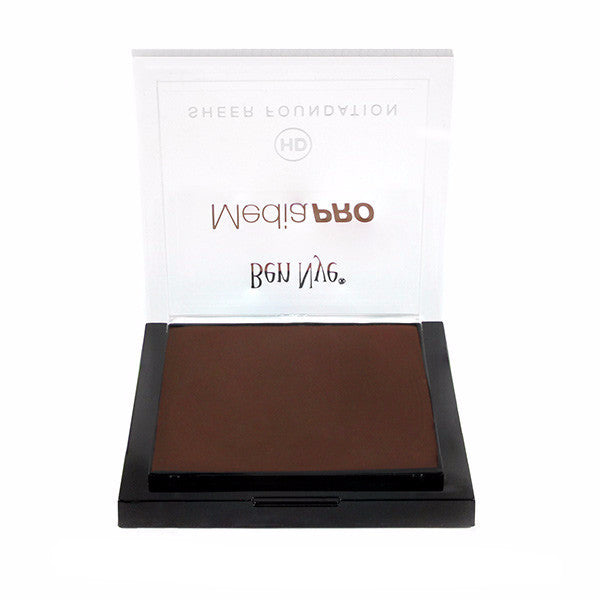 Ben Nye MediaPRO HD Sheer Foundation - Espresso Bean (HD-925) | Camera Ready Cosmetics - 38
