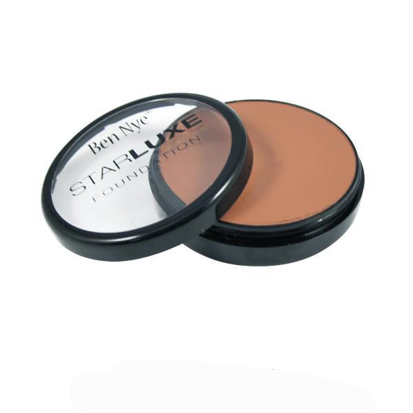 Ben Nye Starluxe Creme Foundation - Special Bronze (SLX-19) | Camera Ready Cosmetics - 10