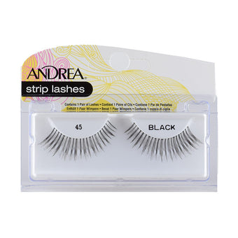 Andrea Strip Style Lash #45 Black (24510)  | Camera Ready Cosmetics