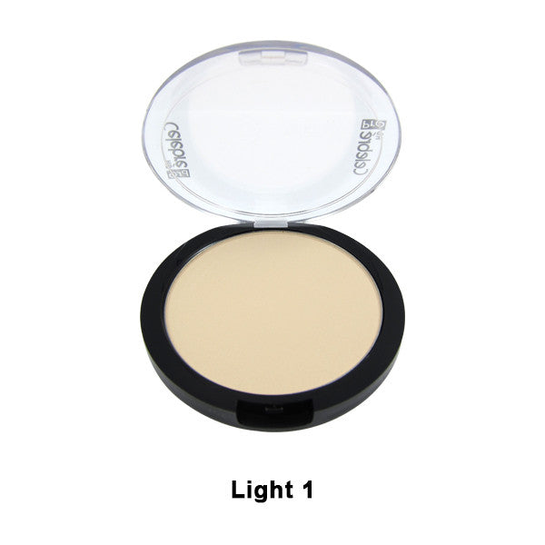 Mehron Celebre Pro-HD Pressed Powder - Light 1 LT1 | Camera Ready Cosmetics - 2