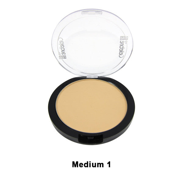 Mehron Celebre Pro-HD Pressed Powder - Medium 1 ME1 | Camera Ready Cosmetics - 8