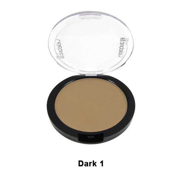 Mehron Celebre Pro-HD Pressed Powder - Dark 1 DK1 | Camera Ready Cosmetics - 16