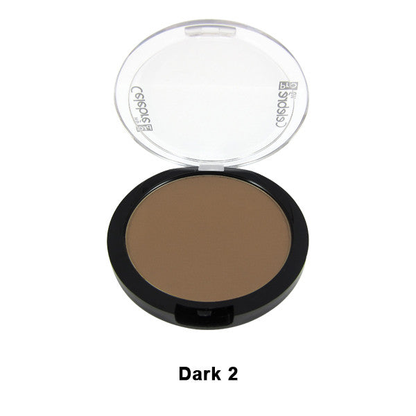 Mehron Celebre Pro-HD Pressed Powder - Dark 2 DK2 | Camera Ready Cosmetics - 17