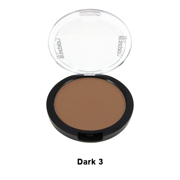 Mehron Celebre Pro-HD Pressed Powder - Dark 3 DK3 | Camera Ready Cosmetics - 18