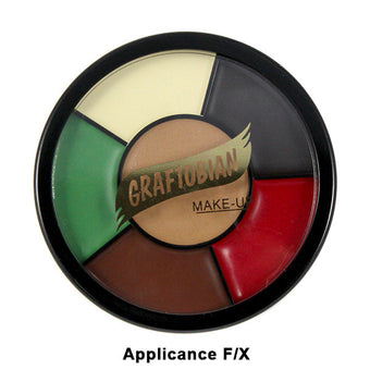 Graftobian Appliance RMG Wheel - Applicance F/X Shades (87051) | Camera Ready Cosmetics - 2