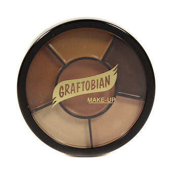 Graftobian Appliance RMG Wheel - Derma Shades (87054) | Camera Ready Cosmetics - 5