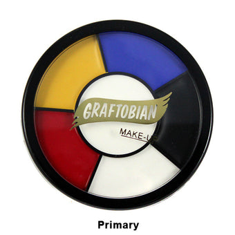 Graftobian Appliance RMG Wheel - Primary Shades (87053) | Camera Ready Cosmetics - 8