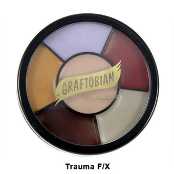 Graftobian Appliance RMG Wheel - Trauma F/X Shades (87055) | Camera Ready Cosmetics - 10