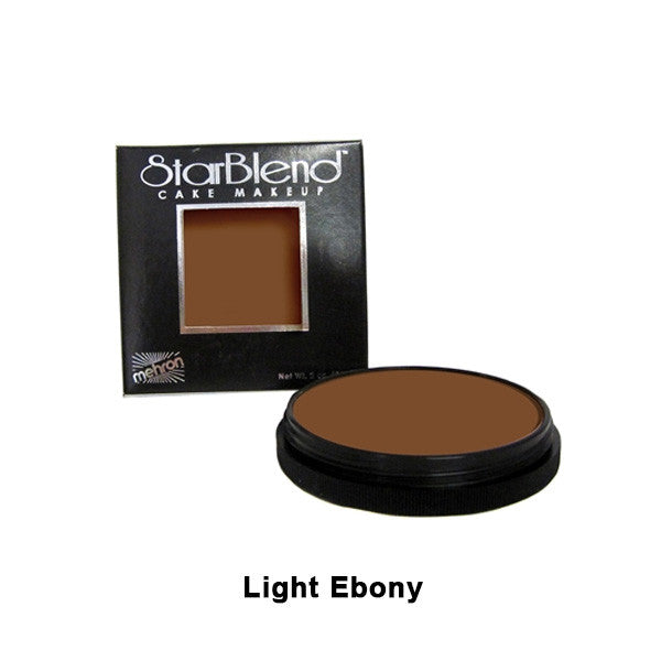 Mehron StarBlend Cake Makeup - Light Ebony (110-LE) | Camera Ready Cosmetics - 25