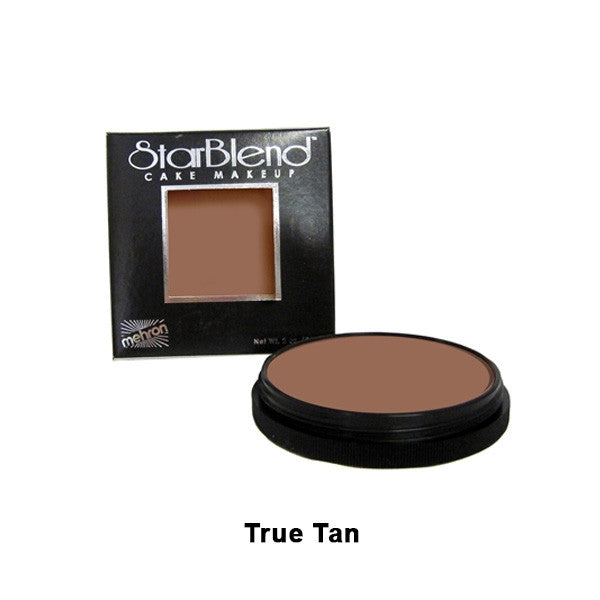 Mehron StarBlend Cake Makeup - True Tan (110-TT) | Camera Ready Cosmetics - 52