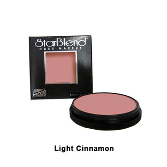 alt Mehron StarBlend Cake Makeup Light Cinnamon (110-28A)