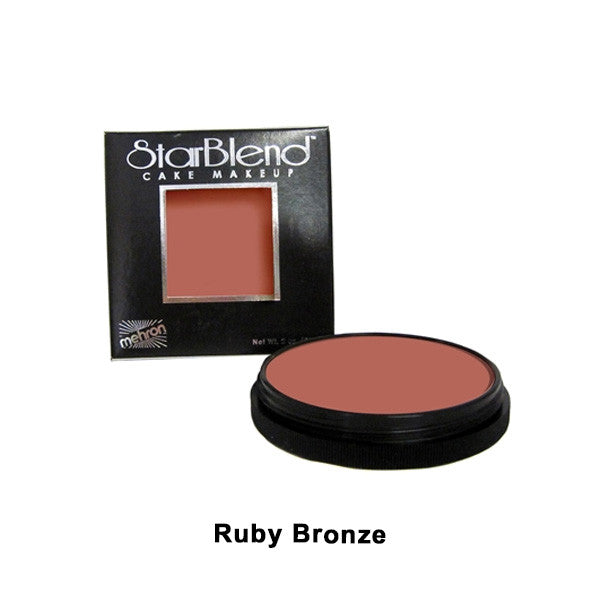 Mehron StarBlend Cake Makeup - Ruby Bronze (110-30A) | Camera Ready Cosmetics - 47
