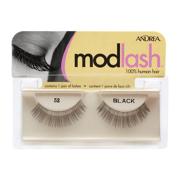Andrea Strip Style Lash #52 Black (25510)  | Camera Ready Cosmetics