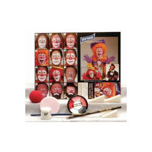 Graftobian Complete Halloween Kit - Auguste/Hobo Clown Kit (88849) | Camera Ready Cosmetics - 2