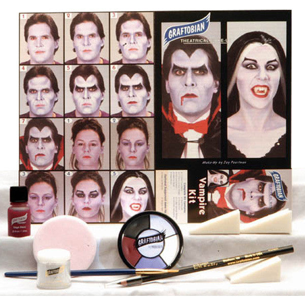Graftobian Complete Halloween Kit - Vampire Kit (88855) | Camera Ready Cosmetics - 14