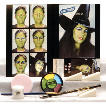 Graftobian Complete Halloween Kit - Witch Kit (88857) | Camera Ready Cosmetics - 18