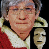 Graftobian Foam Latex FX Faces - Old Age (89464) | Camera Ready Cosmetics - 5