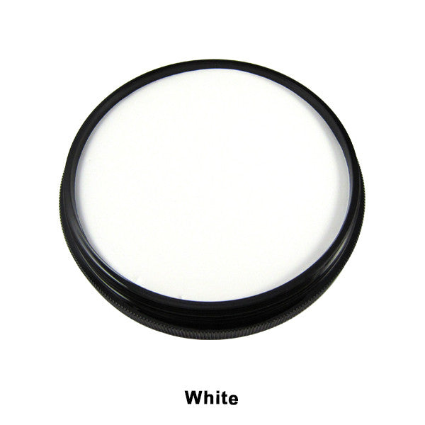 Mehron Foundation Greasepaint - White (102-W) | Camera Ready Cosmetics - 23