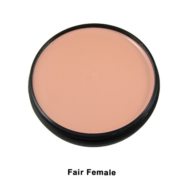 Mehron Foundation Greasepaint - Fair Female (102-5B) | Camera Ready Cosmetics - 9