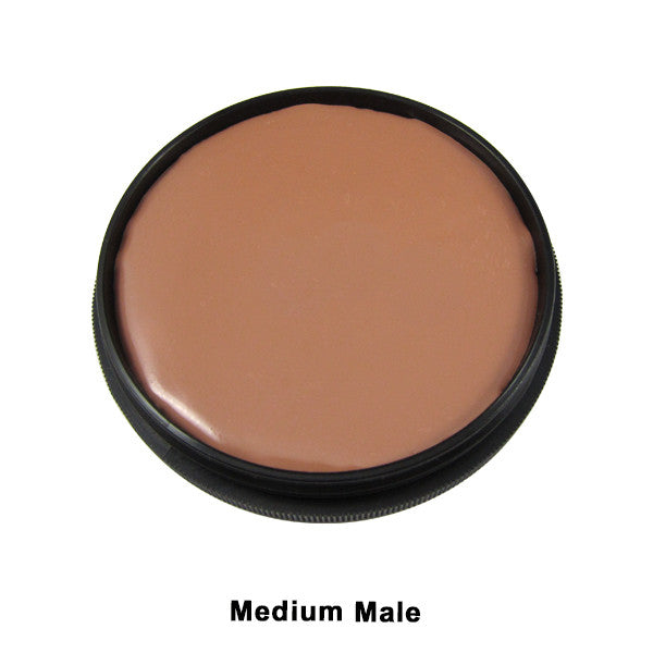 Mehron Foundation Greasepaint - Medium Male (102-6.5B) | Camera Ready Cosmetics - 15