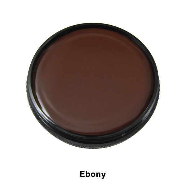 Mehron Foundation Greasepaint - Ebony (102-10C) | Camera Ready Cosmetics - 7