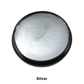 Mehron Foundation Greasepaint - Silver (102-S) | Camera Ready Cosmetics - 22