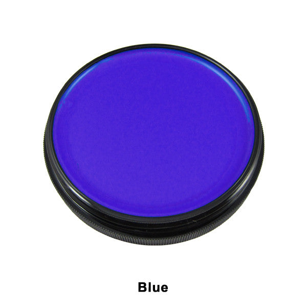 Mehron Foundation Greasepaint - Blue (102-BL) | Camera Ready Cosmetics - 6