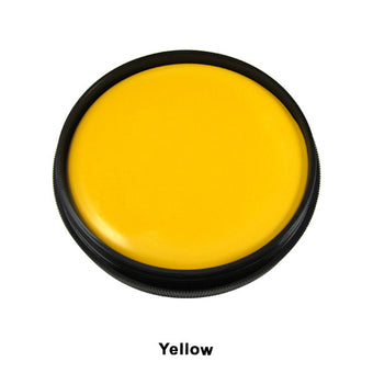 Mehron Foundation Greasepaint - Yellow (102-Y) | Camera Ready Cosmetics - 24