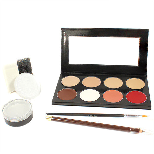 Mehron Mini-Pro Student Makeup Kit w/ CreamBlend Base - Fair/Olive Fair (KMP-NF) | Camera Ready Cosmetics - 2