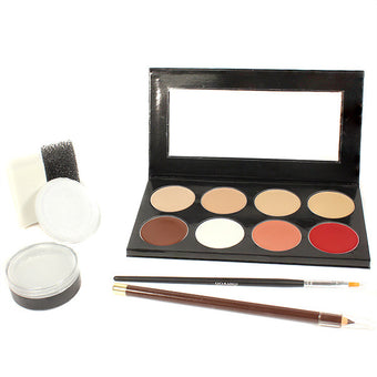 alt Mehron Mini-Pro Student Makeup Kit Fair/Olive Fair (KMP-NF)