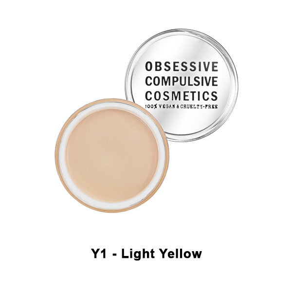 OCC SKIN: CONCEAL - Y1 - Light Yellow | Camera Ready Cosmetics - 10