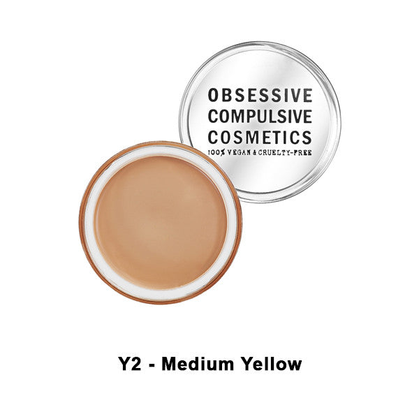OCC SKIN: CONCEAL - Y2 - Med. Yellow | Camera Ready Cosmetics - 11