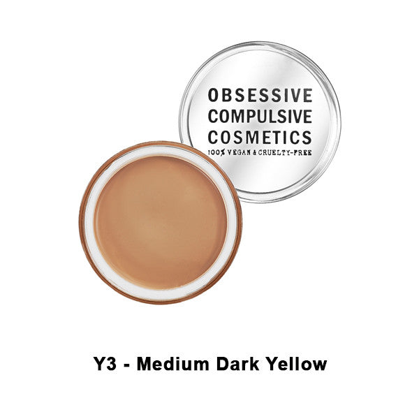 OCC SKIN: CONCEAL - Y3 - Med. Dark Yellow | Camera Ready Cosmetics - 12