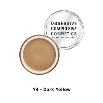 OCC SKIN: CONCEAL - Y4 - Dark Yellow | Camera Ready Cosmetics - 13