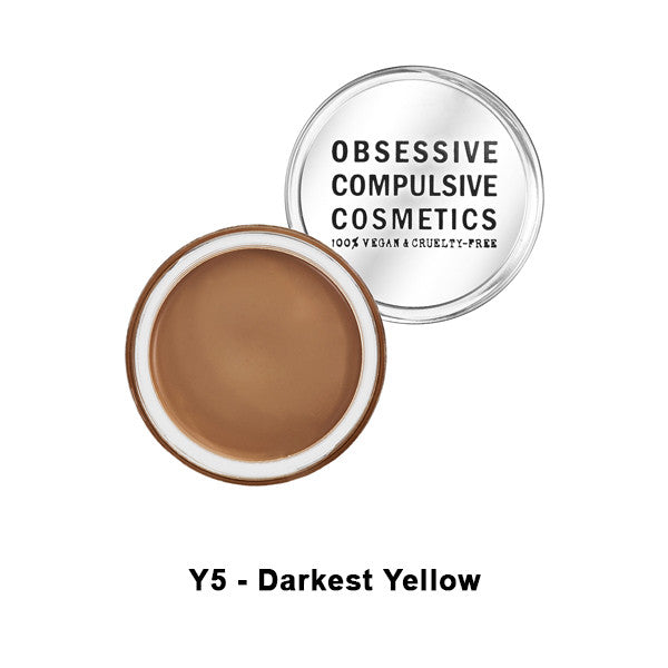 OCC SKIN: CONCEAL - Y5 - Darkest Yellow | Camera Ready Cosmetics - 14