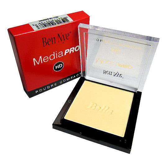 ALT - Ben Nye MediaPRO Bella Poudre Compact Powder - Full size compact - Camera Ready Cosmetics