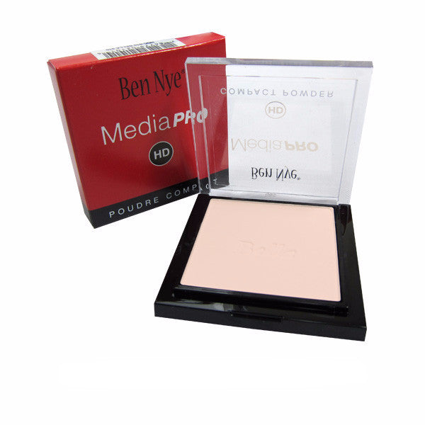Ben Nye MediaPRO Bella Poudre Compact Powder - Full size compact - Bella 001 (HDC-001) | Camera Ready Cosmetics - 5
