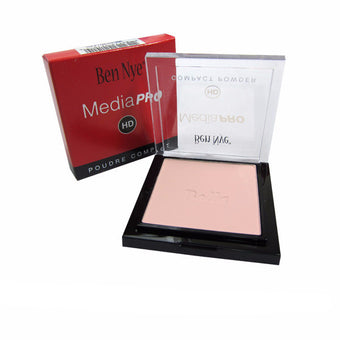 Ben Nye MediaPRO Bella Poudre Compact Powder - Full size compact - Bella 002 (HDC-002) | Camera Ready Cosmetics - 6