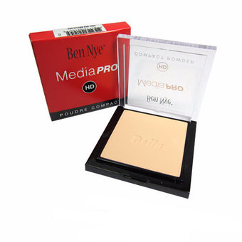 Ben Nye MediaPRO Bella Poudre Compact Powder - Full size compact - Bella 003 (HDC-003) | Camera Ready Cosmetics - 7