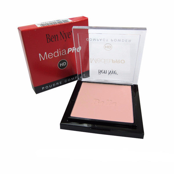 Ben Nye MediaPRO Bella Poudre Compact Powder - Full size compact - Bella 004 (HDC-004) | Camera Ready Cosmetics - 8